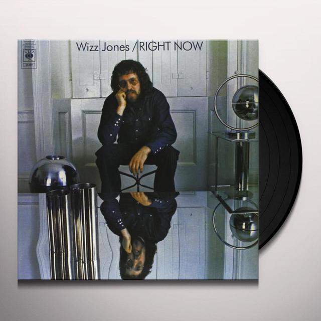 Wizz Jones RIGHT NOW Vinyl Record - 180 Gram Pressing