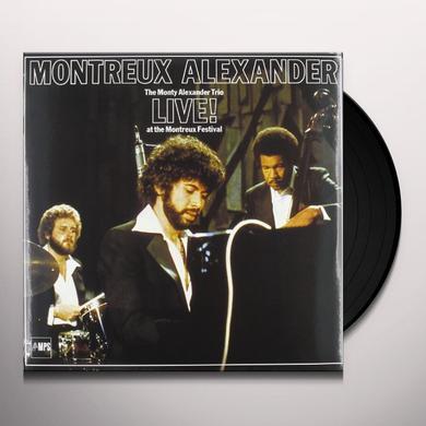 MONTY ALEXANDER TRIO LIVE AT MONTREUX Vinyl Record