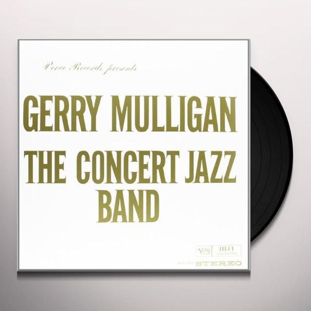 Gerry Mulligan CONCERT JAZZ BAND Vinyl Record - 180 Gram Pressing