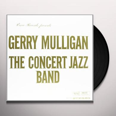 Gerry Mulligan CONCERT JAZZ BAND Vinyl Record
