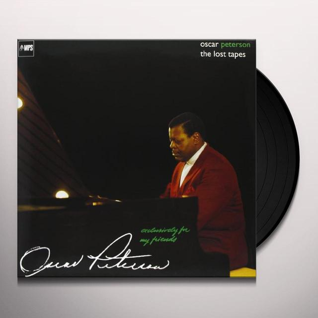 Oscar Peterson EXCLUSIVELY FOR MY FRIENDS: LOST TAPES Vinyl Record