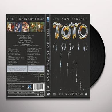 Toto 25TH ANNIVERSARY: LIVE Vinyl Record