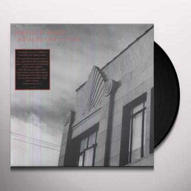 Harold Budd ABANDONED CITIES Vinyl Record