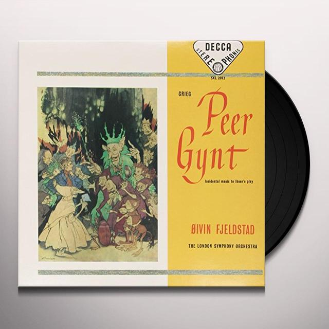 Grieg / Fjeldstad PEER GYNT Vinyl Record