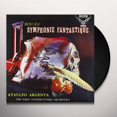 Berlioz / Argenta SYMPHONIE FANTASTIQUE Vinyl Record