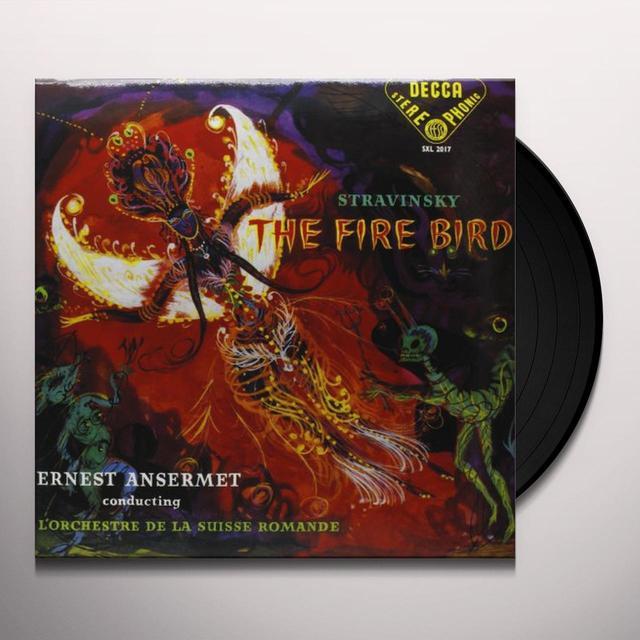 Stravinsky / Ansermet FIREBIRD Vinyl Record - 180 Gram Pressing