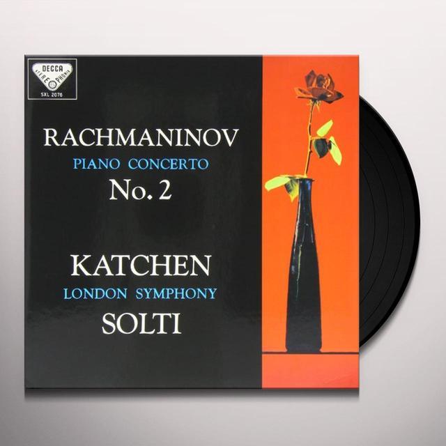 Rachmaninov / Balakirev / Solti PIANO CONCERTO 2 / ISLAMEY Vinyl Record - 180 Gram Pressing