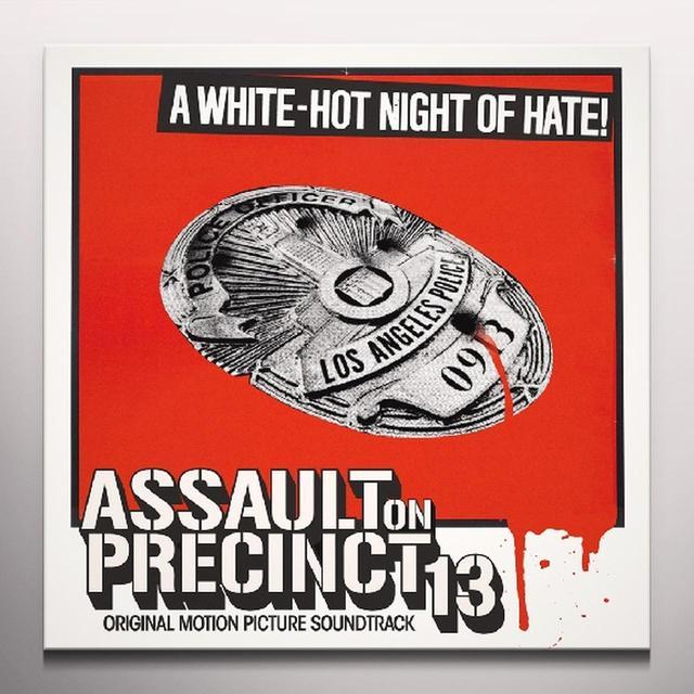 Assault On Precinct 13 / O.S.T. (Rmst) (Colv) ASSAULT ON PRECINCT 13 / O.S.T. Vinyl Record - Remastered, Colored Vinyl