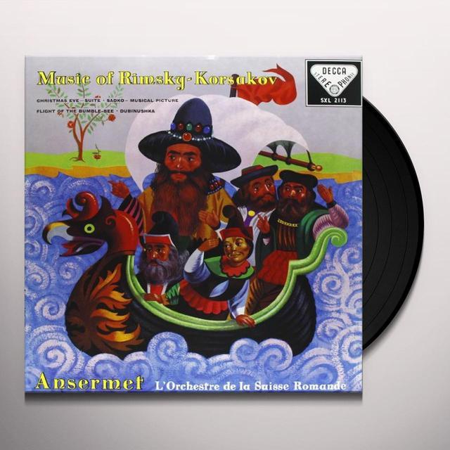 Rimsky / Korsakov / Ansermet CHRISTMAS EVE Vinyl Record