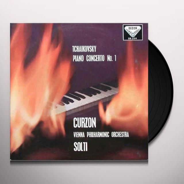 Tchaikovsky / Solti PIANO CONCERTO 1 Vinyl Record - 180 Gram Pressing