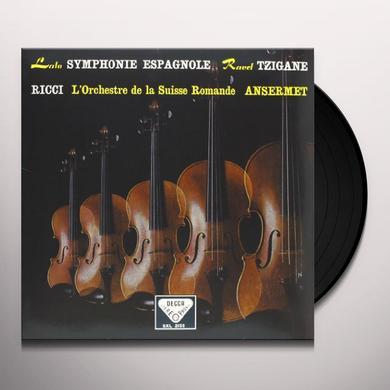 Lalo / Ravel / Ansermet SYMPHONIE ESPAGNOLE / TZIGANE Vinyl Record - 180 Gram Pressing