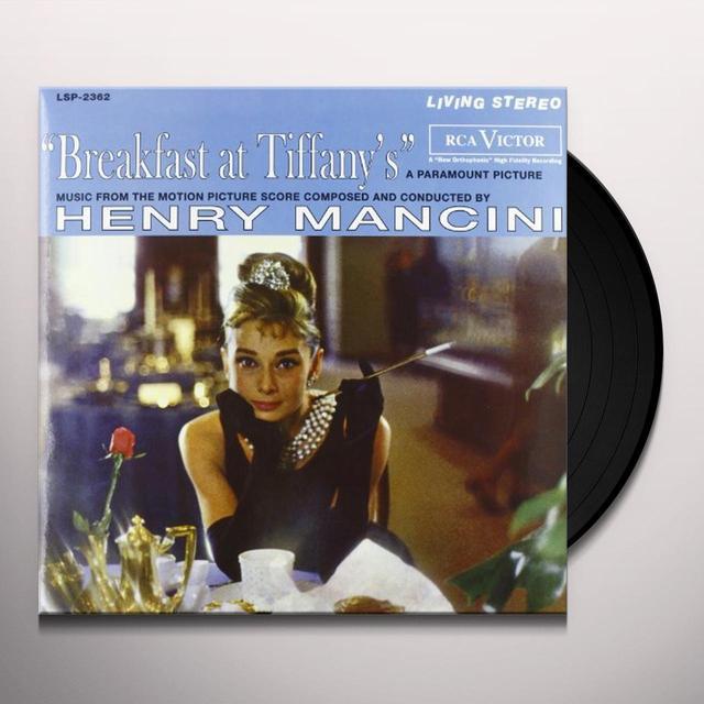 Breakfast At Tiffany'S / O.S.T. (Ogv) BREAKFAST AT TIFFANY'S / O.S.T. Vinyl Record - 180 Gram Pressing