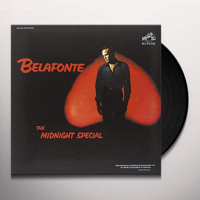 Harry Belafonte MIDNIGHT SPECIAL Vinyl Record - 180 Gram Pressing