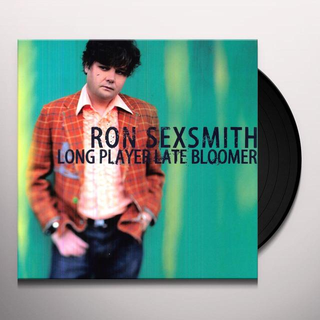 Ron Sexsmith LONG PLAYER LATE BLOOMER Vinyl Record - 180 Gram Pressing