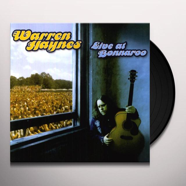 Warren Haynes LIVE AT BONNAROO (OGV) (Vinyl)