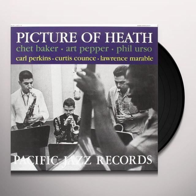Chet Baker / Art Pepper / Phil Urso PICTURE OF HEALTH Vinyl Record