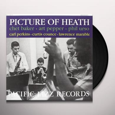 Chet Baker / Art Pepper / Phil Urso PICTURE OF HEALTH Vinyl Record - 180 Gram Pressing