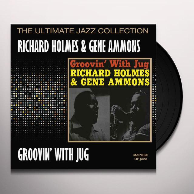 Richard Holmes / Gene Ammons GROOVIN WITH JUG Vinyl Record