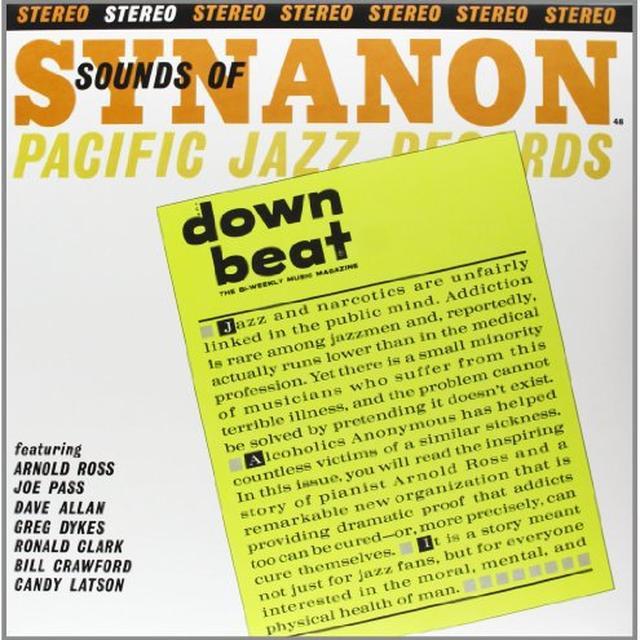 Joe Pass SOUNDS OF SYNANON Vinyl Record - 180 Gram Pressing