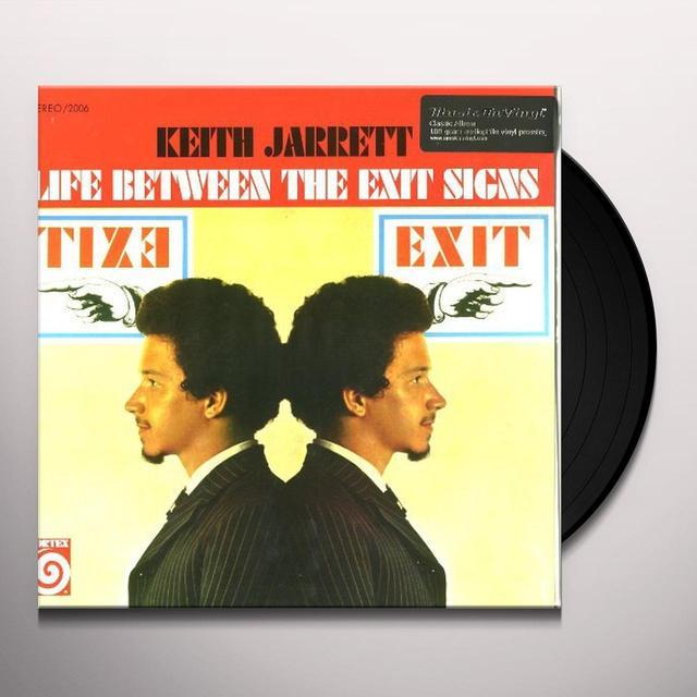 Keith Trio Jarrett LIFE BETWEEN THE EXIT SIGNS Vinyl Record - 180 Gram Pressing