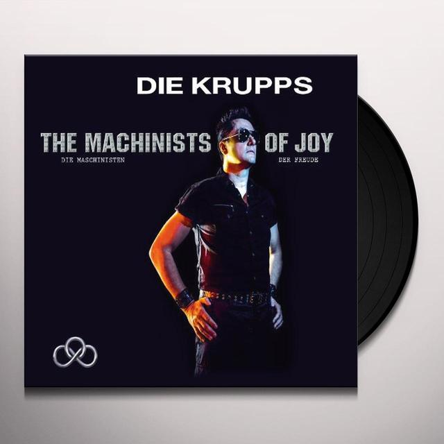 Die Krupps MACHINISTS OF JOY (Vinyl)