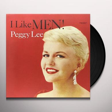 Peggy Lee LIKE MEN Vinyl Record - 180 Gram Pressing