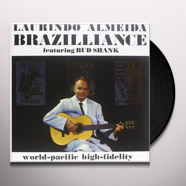 Laurindo Almeida BRAZILLIANCE Vinyl Record - 180 Gram Pressing