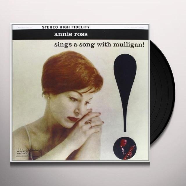 Annie Ross SINGS A SONG WITH MULLIGAN Vinyl Record - 180 Gram Pressing
