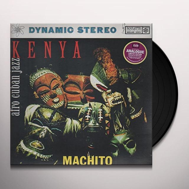 Machito KENYA Vinyl Record - 180 Gram Pressing