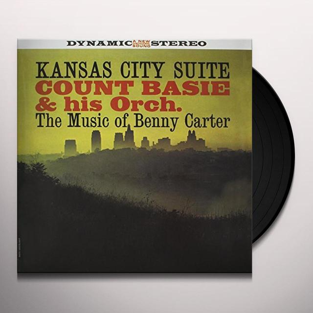 Count Basie KANSAS CITY SUITE: MUSIC OF BENNY CARTER Vinyl Record - 180 Gram Pressing