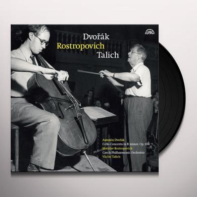 Dvorak / Czech Philharmonic Orchestra DVORAK ROSTROPOVICH TALICH Vinyl Record