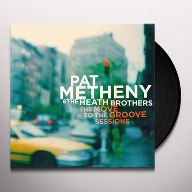 Pat Metheny MOVE TO THE GROOVE SESSIONS Vinyl Record