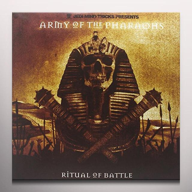 Jedi Mind Tricks ARMY OF THE PHARAOHS: RITUAL OF BATTLE Vinyl Record - Colored Vinyl