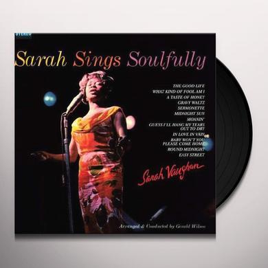 Sarah Vaughan SARAH SINGS SOULFULLY Vinyl Record - 180 Gram Pressing