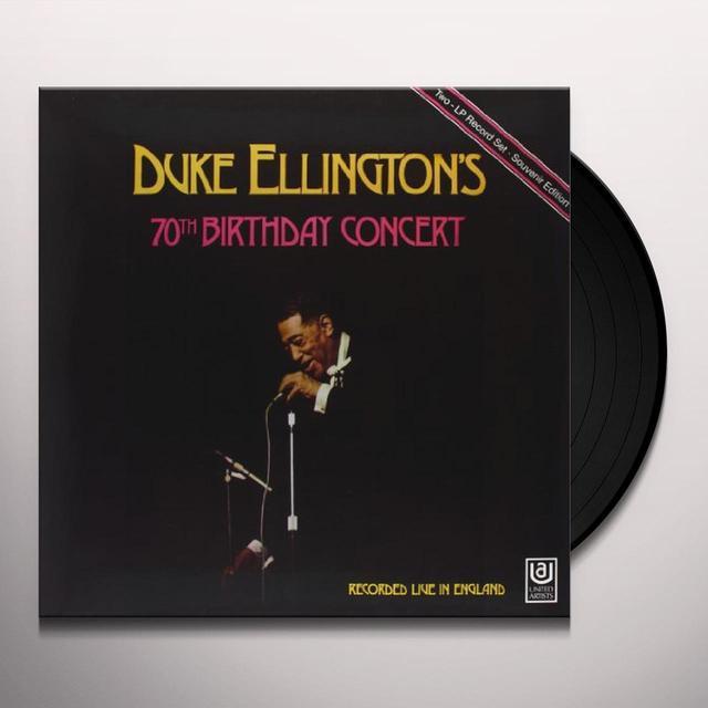 Duke Ellington 70TH BIRTHDAY CONCERT Vinyl Record - 180 Gram Pressing
