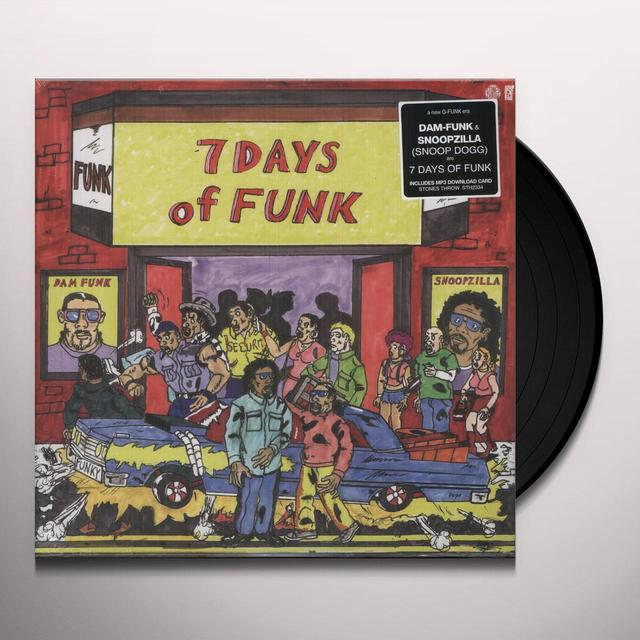 7 DAYS OF FUNK Vinyl Record