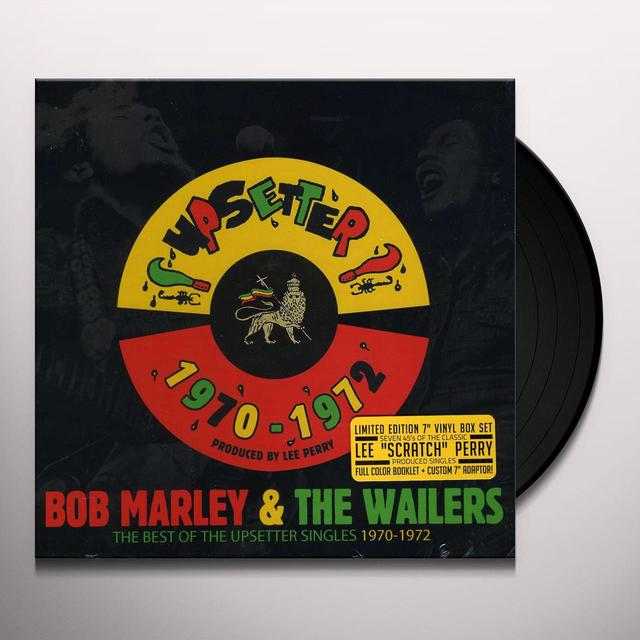 Bob Marley BEST OF THE UPSETTER SINGLES 1970-1972 Vinyl Record