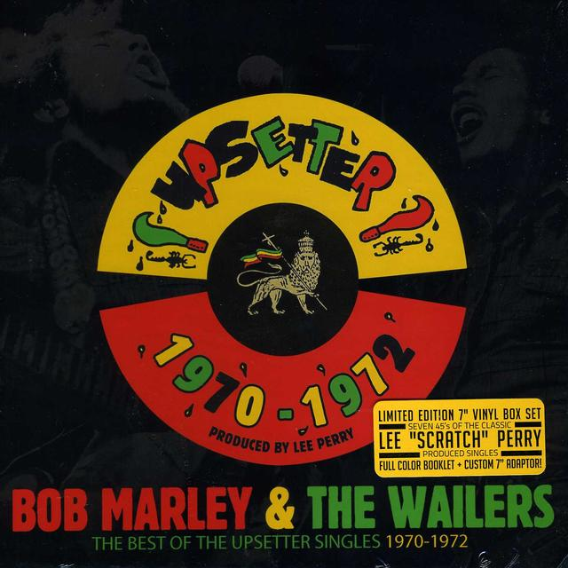 Bob Marley BEST OF THE UPSETTER SINGLES 1970-1972 Vinyl Record