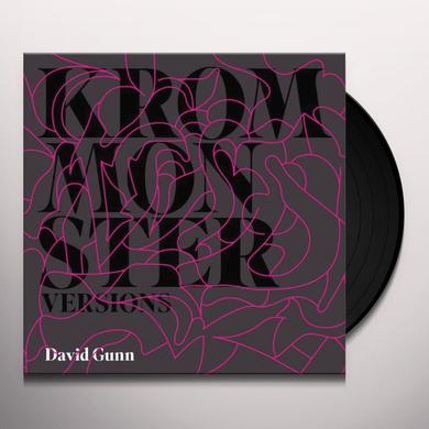 David Gunn KROM MONSTER Vinyl Record
