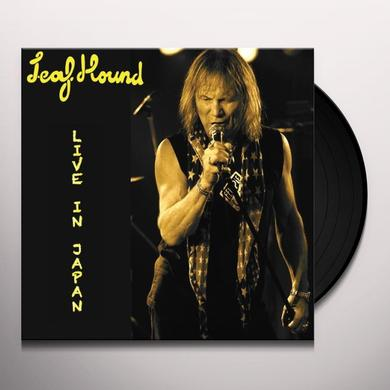 Leaf Hound LIVE IN JAPAN 2012 Vinyl Record