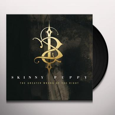 Skinny Puppy GREATER WRONG OF THE RIGHT Vinyl Record