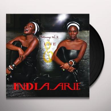 India.Arie TESTIMONY 2: LOVE & POLITICS Vinyl Record