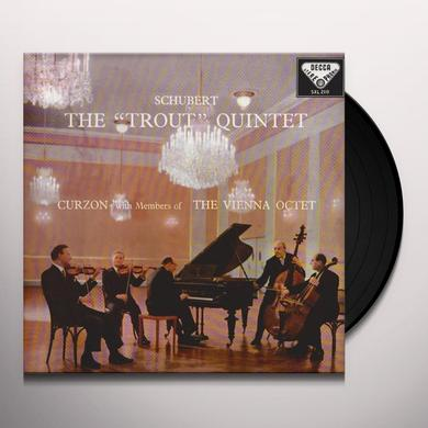 Schubert / Curzon / Vienna Octet TROUT QUINTET Vinyl Record - 180 Gram Pressing
