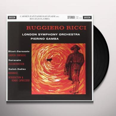 Bizet / Sarasate / Gamba CARMEN FANTAISIE / ZIGEUNERWEISEN Vinyl Record - 180 Gram Pressing