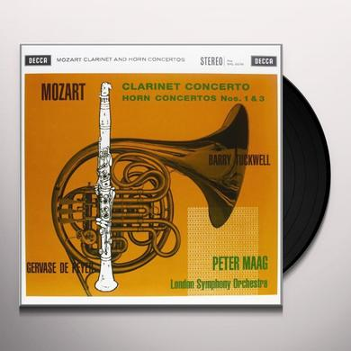 Mozart / Maag CLARINET CONCERTO Vinyl Record - 180 Gram Pressing