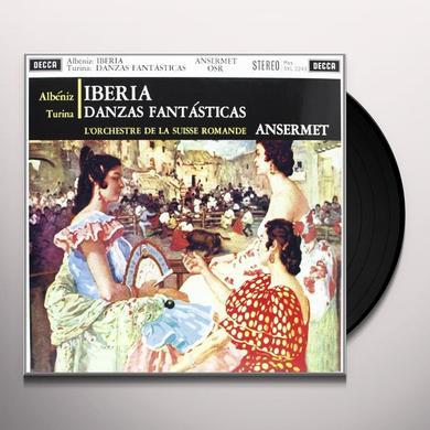 Albeniz / Turina / Ansermet IBERIA / DANZAS FANTASTICAS Vinyl Record