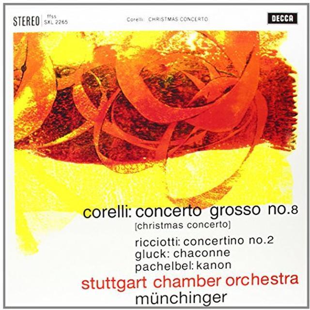 Corelli / Munchinger CONCERTO GROSSO 8 Vinyl Record - 180 Gram Pressing
