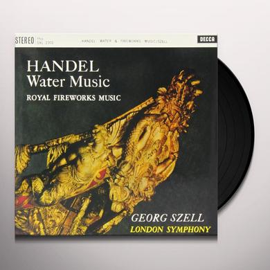 Handel / Szell WATER MUSIC FIREWORKS MUSIC Vinyl Record - 180 Gram Pressing