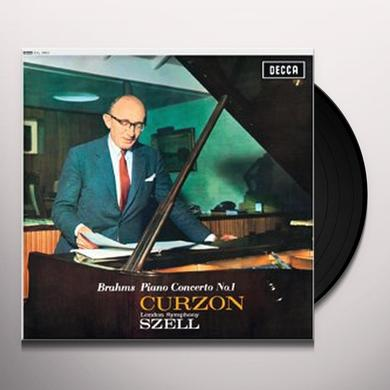 Brahms / Szell PIANO CONCERTO 1 Vinyl Record