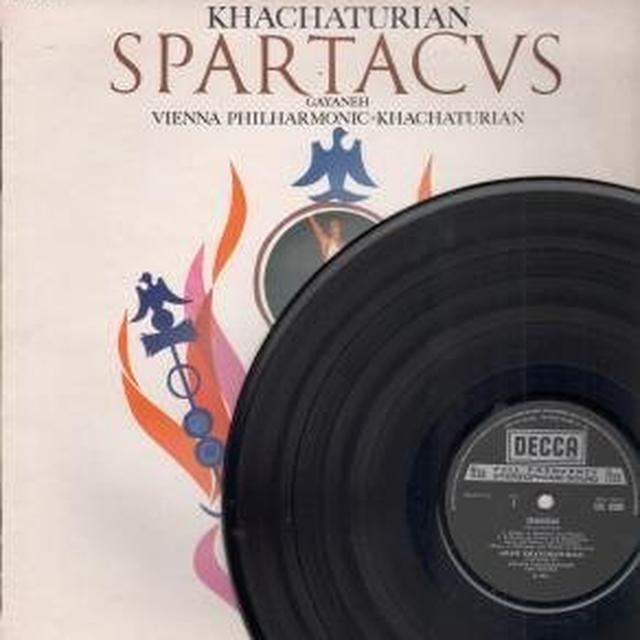 Aram Khachaturian SPARTACUS GAYNEH Vinyl Record